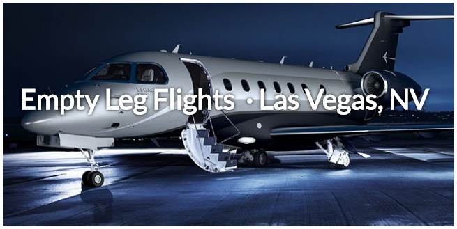 empty leg flight las vegas