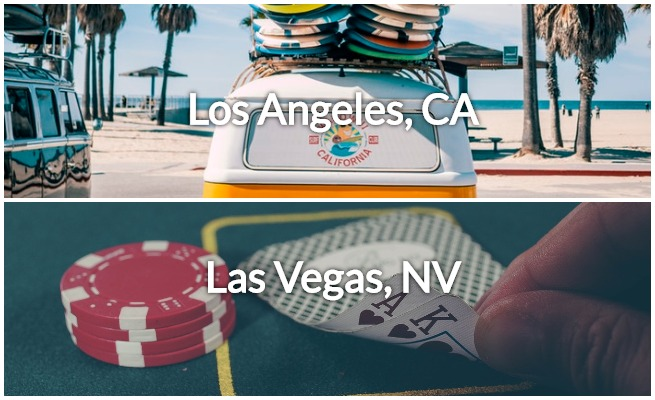 private jet las vegas to los angeles