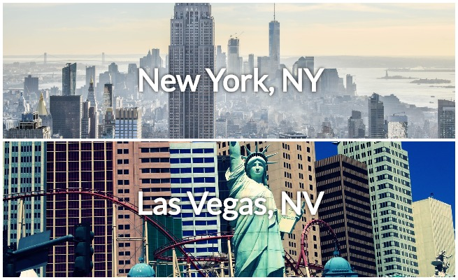 private jet from NYC to Vegas